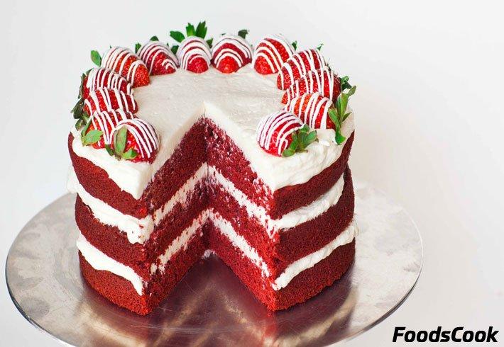 Торт красный бархат рецепт пошагово от юлии высоцкой