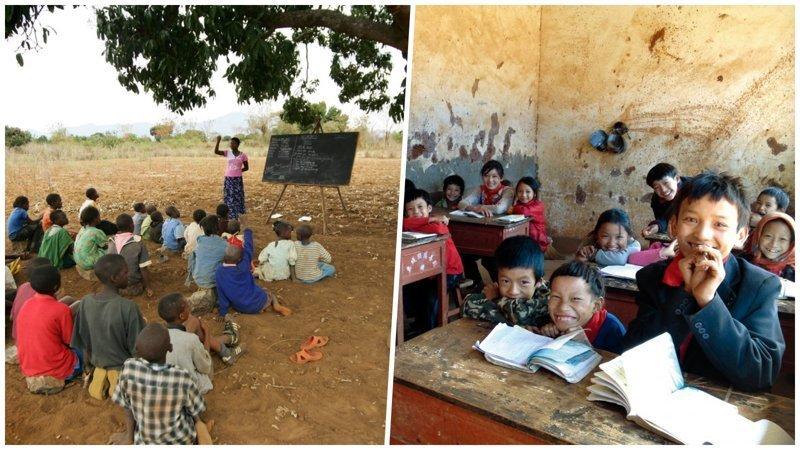 Если ваши дети отказываются идти в школу, покажите им эти фотографии