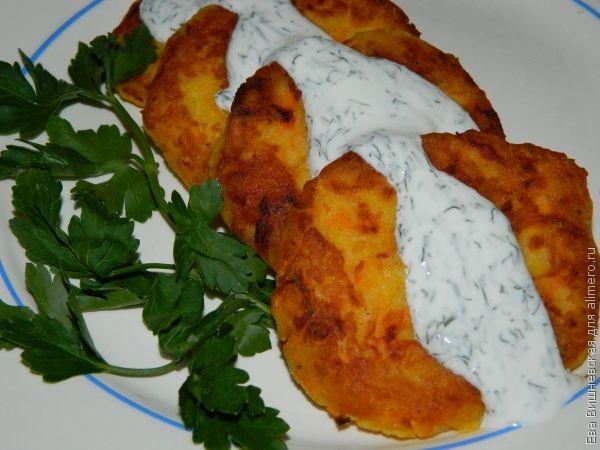 Драники из вареной картошки с сыром рецепт пошагово