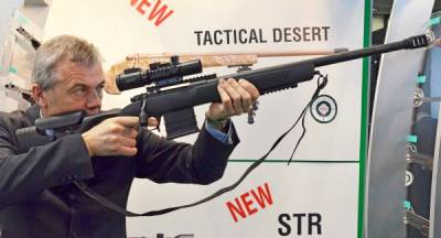 Новинки оружия 2017: Винтовка Sabatti Urban Sniper с мультирадиусной нарезкой ствола