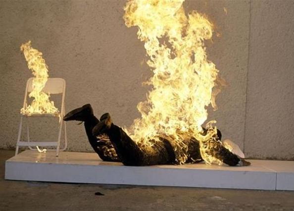 Феномен самопроизвольного возгорания человека