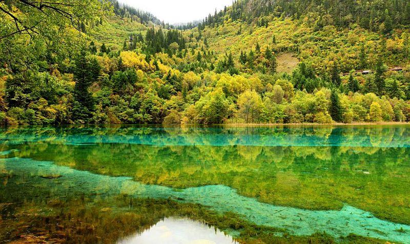Природный заповедник Хуанлун (Huanglong), Китай