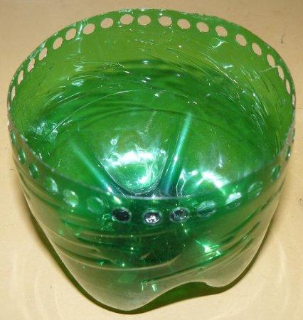 Мастер-класс изготовления круглой шкатулки из пл. бутылок