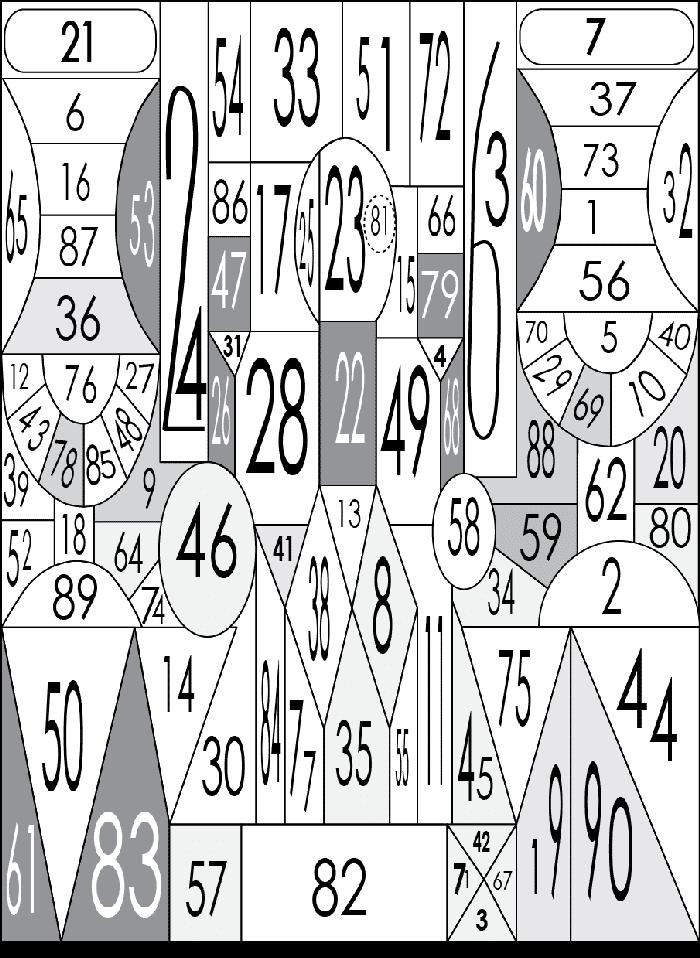 Советская таблица проверки наблюдательности