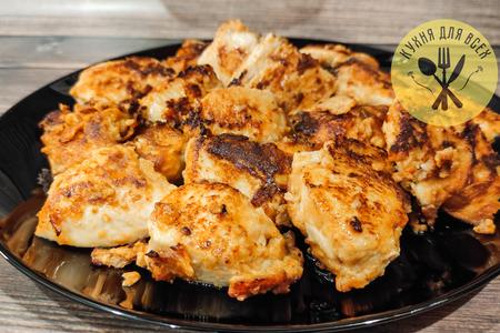 Куриное филе на сковороде в нежном маринаде: фото шаг 3