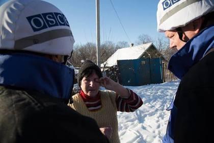 Наблюдатели ОБСЕ заметили в Авдеевке танки и РСЗО