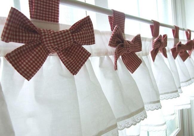 как правильно вешать шторы на карниз
