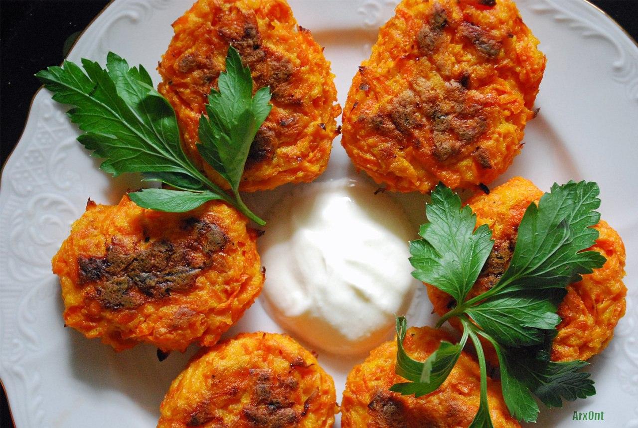 Блюда из моркови для детей рецепты