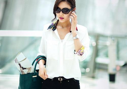 Классика — элегантная белая рубашка: 10 стильных образов