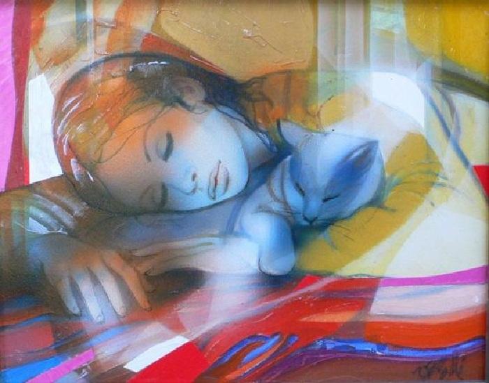 Чувственные женщины глазами художника: воздушные картины Жана Батиста Валадье