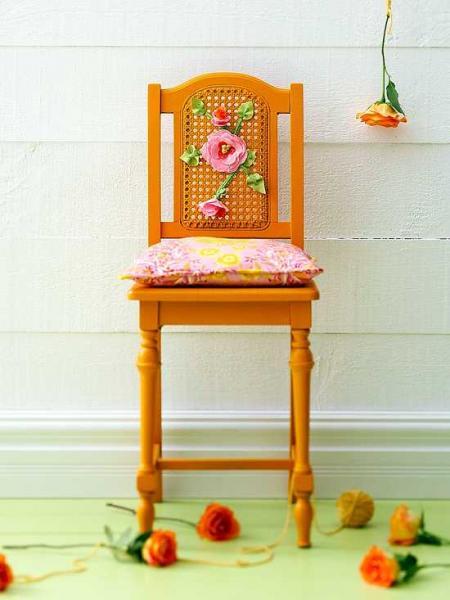 Грамотная и оригинальная переделка старой мебели