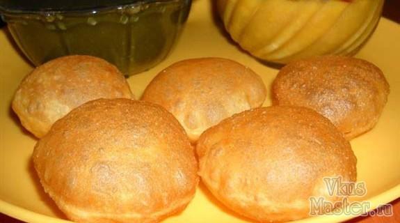 Индийские воздушные пури рецепт