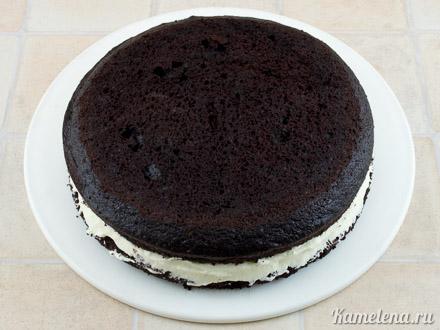 «Дьявольский» шоколадный торт — 9 шаг