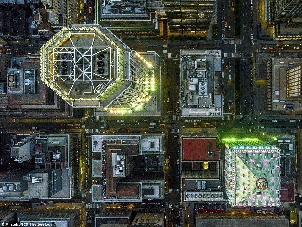 Фото Нью-Йорка с высоты