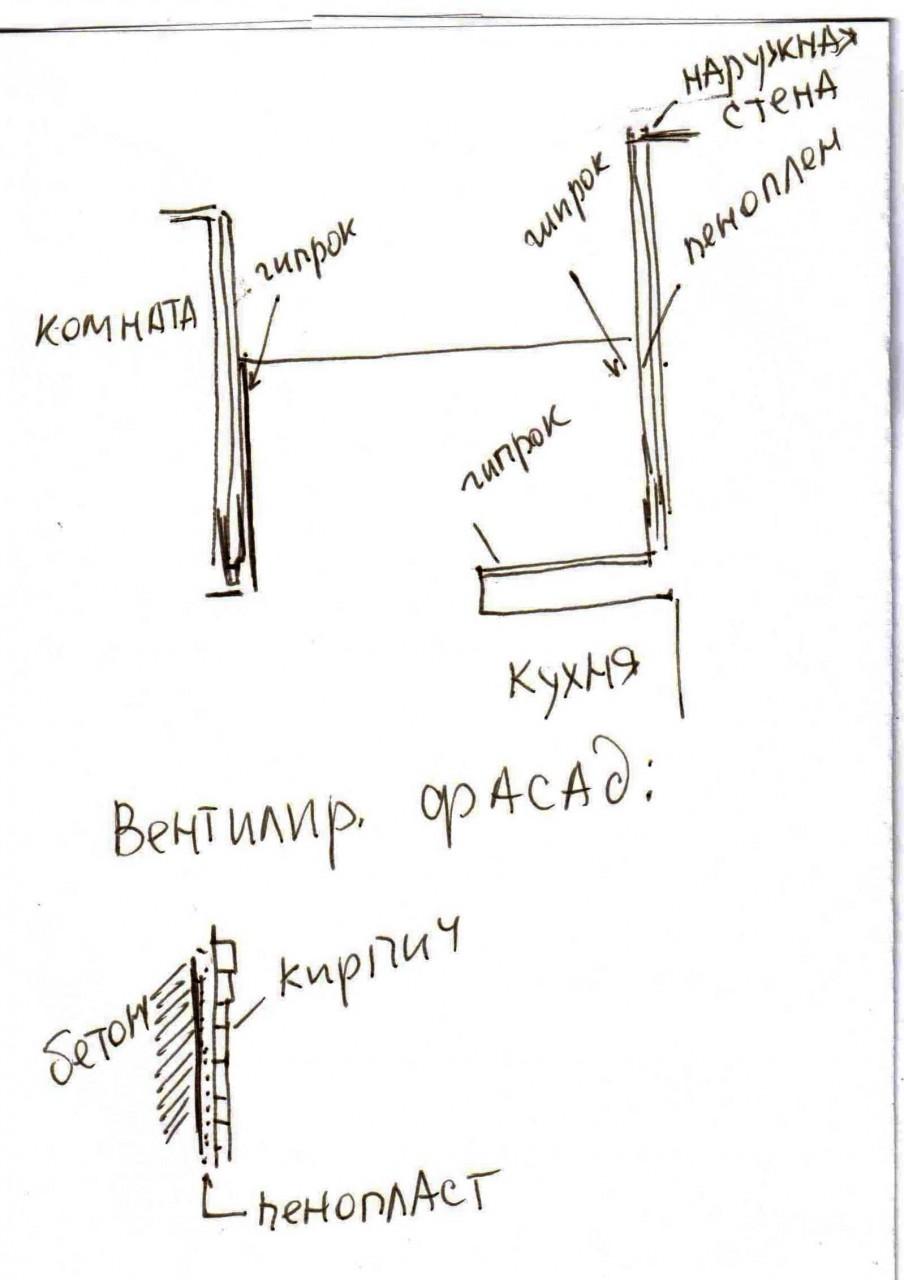 Вентилируемый фасал  -как утеплить балкон