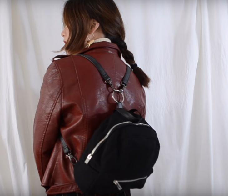 Рюкзак из пальто (Diy)