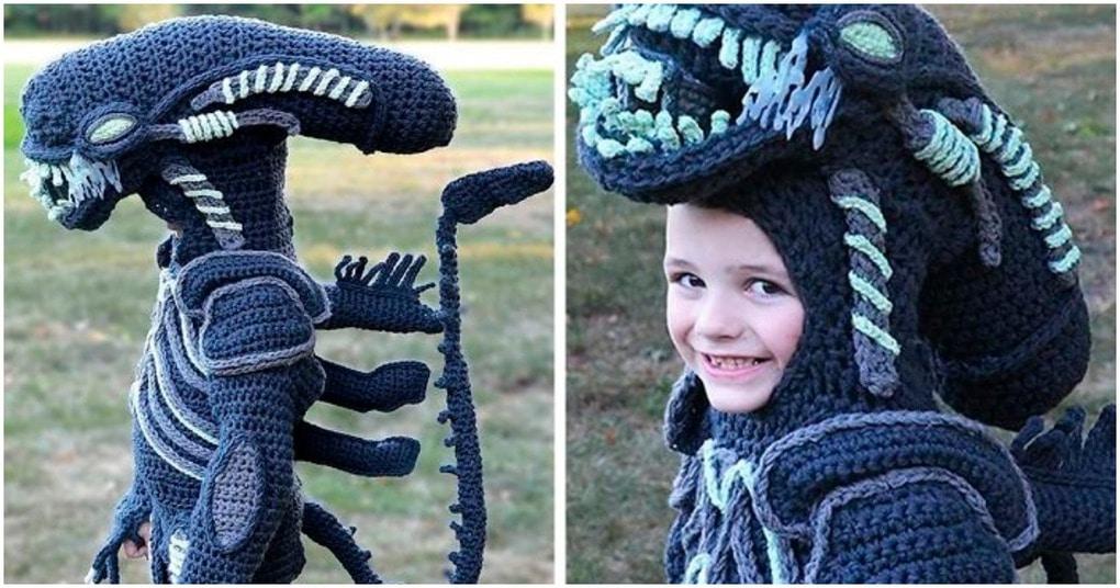 Необычные и приводящие в восторг вязанные костюмы для детей
