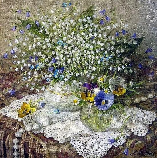 художник Лидия Даценко картины – 23