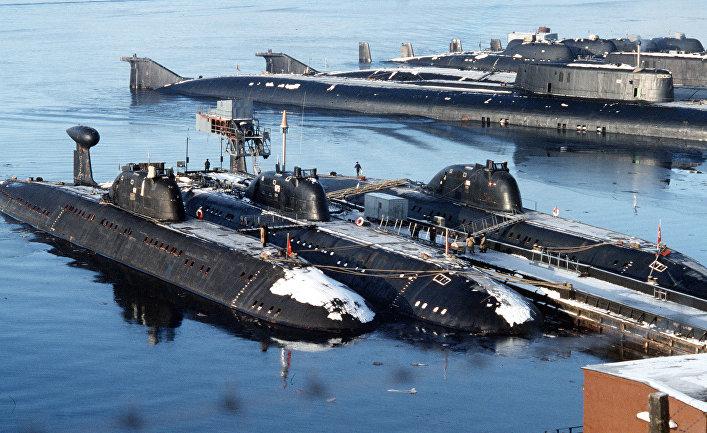 Путинская атомная подлодка на пути в Западную Швецию (Expressen, Швеция)