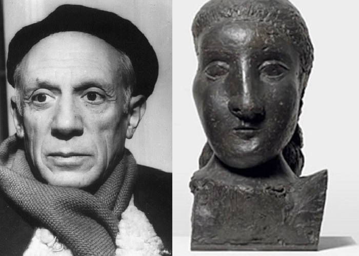 Голова женщины. Пикассо