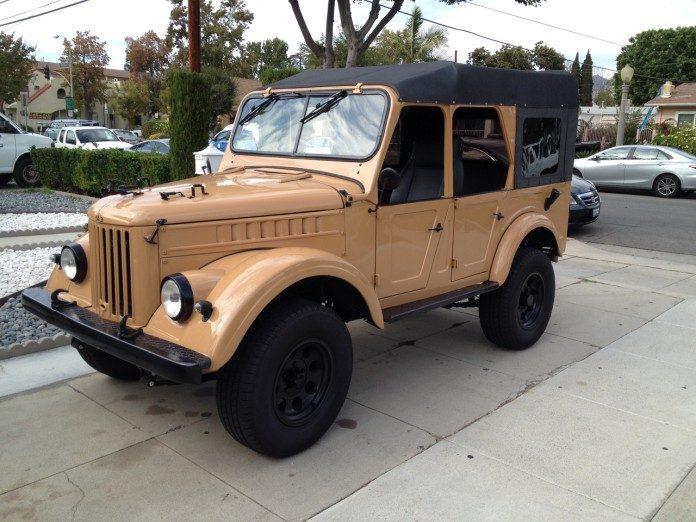 Американцы «пересадили» ГАЗ-69А на шасси Jeep