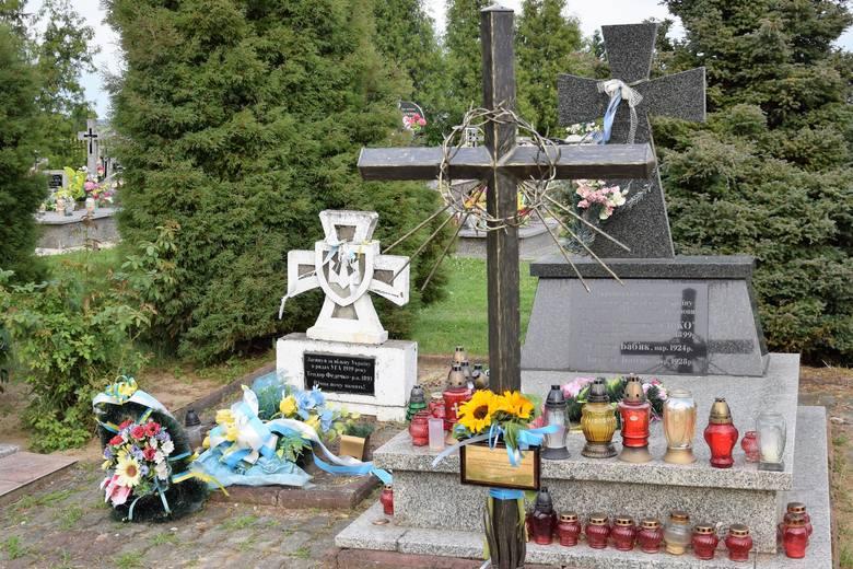 В Польше на месте памятника боевикам УПА появился крест в память об их жертвах