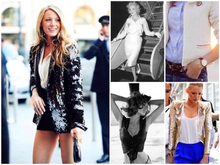 Жакеты и блузы
