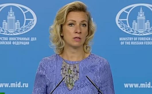 Захарова прокомментировала идею Порошенко о введении миротворцев в Донбасс