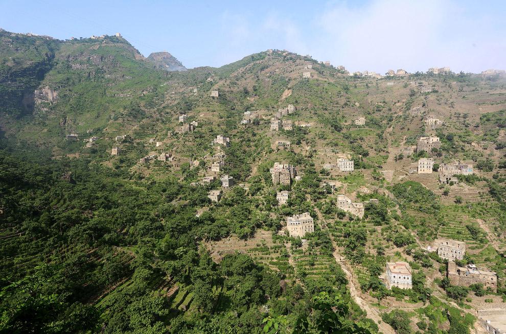 Дома и жизнь в Йеменских горах