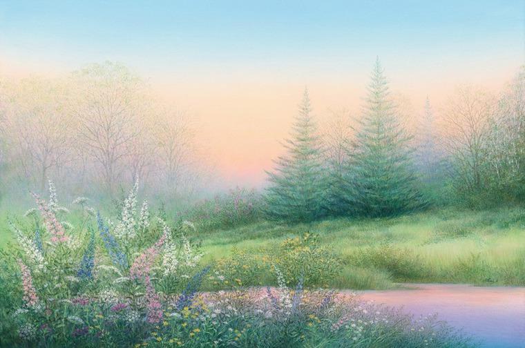 Романтизм и безмятежность в работах живописца Arnold Alaniz