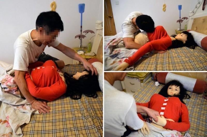 Секс с пенсионером в постели