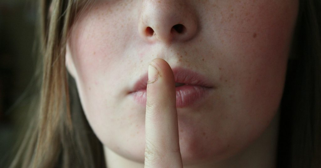 Иногда лучше просто молчать