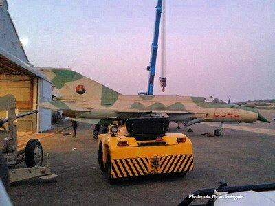 ЮАР вернула Анголе трофейный истребитель МиГ-21бис