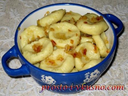Ленивые вареники с картошкой. Просто и вкусно