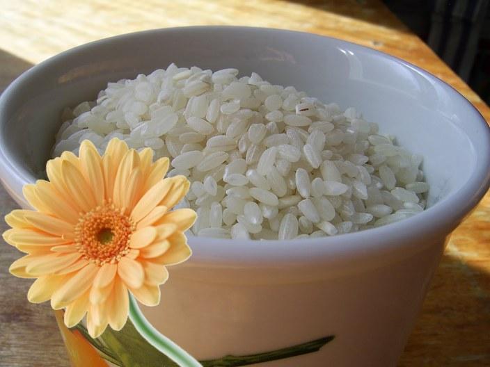 Рисовый скраб для вашего желудка. (очищаем организм и худеем)