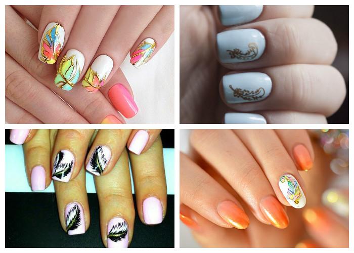 Новые тенденции в дизайне ногтей 2017 новинки
