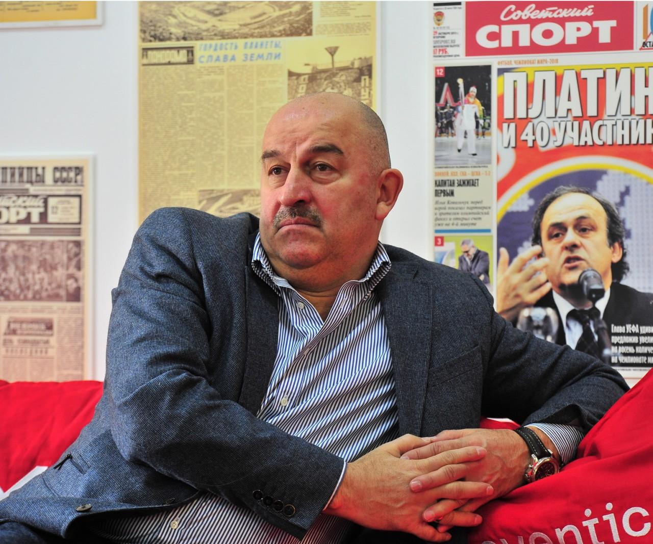 Станислав Черчесов: Дзюба не мог помочь сборной