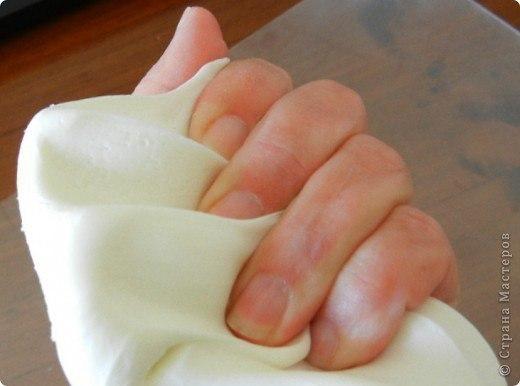 Холодный фарфор за 10 минут