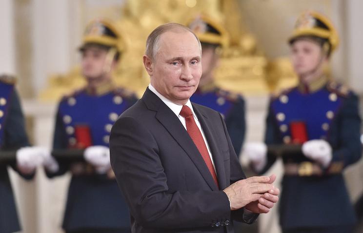 Владимир Путин: Россия пережила тревожное время и четко обозначила национальные интересы