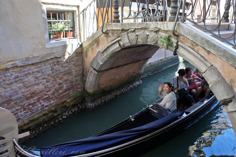Китайские туристы в Венеции