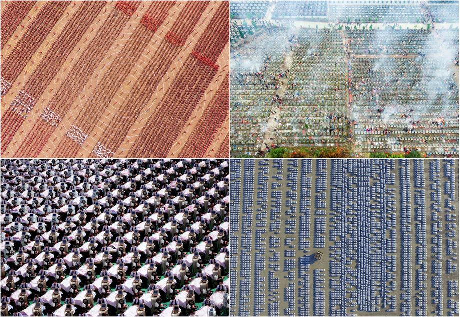 Захватывающие снимки Китая с высоты птичьего полета