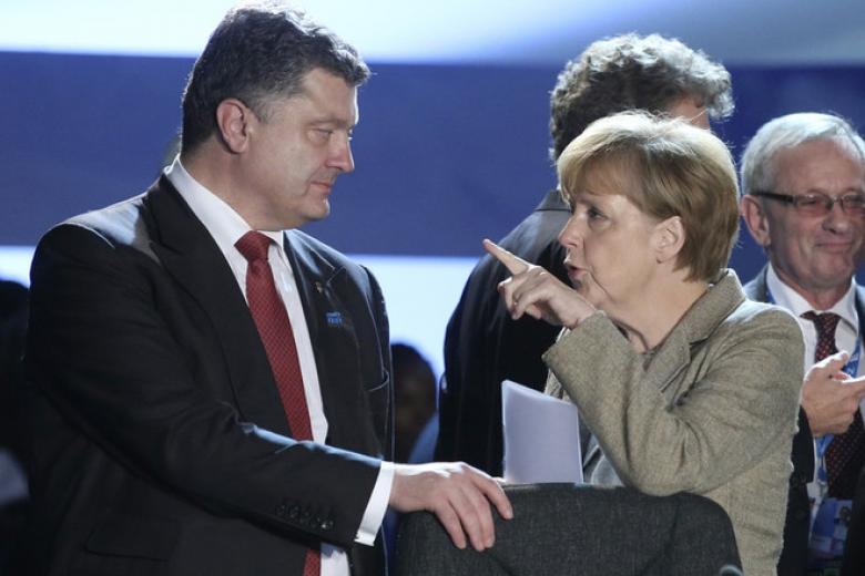 У Порошенко сделали важное заявление по нормандскому формату после встречи с Меркель