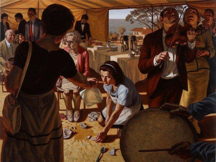 Американский реализм художника Скотта Гесса