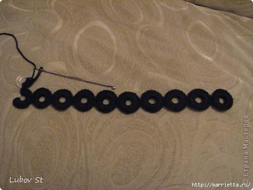 Сумочка из колец с бисером. Вязание крючком без отрыва ниток (6) (520x390, 113Kb)