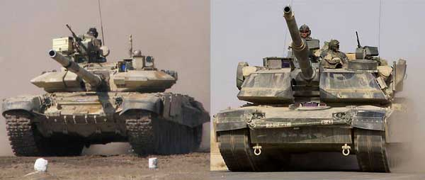 """Т-90 и """"Абрамс"""" столкнулись на полях Индии"""