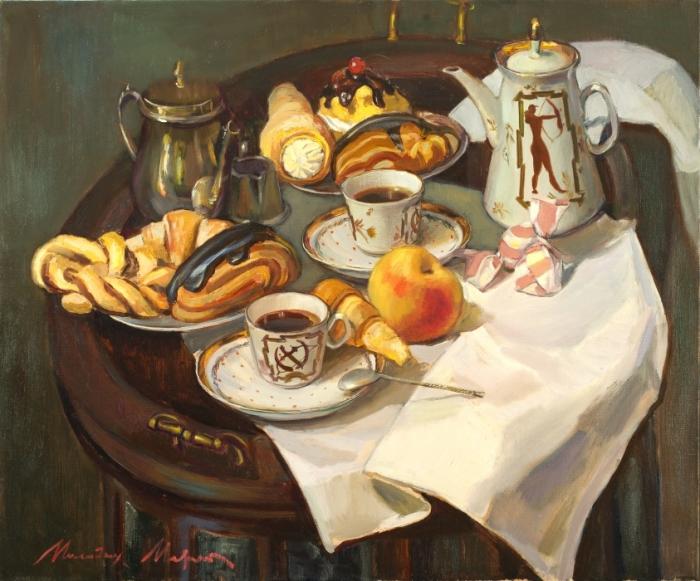 Чайный десерт. Автор: Молодых Мария.