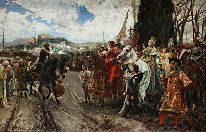 Завоевание Гранады – последняя точка Реконкисты