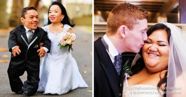 Люди разбивают вдребезги стереотипы о том, как должна выглядеть идеальная пара