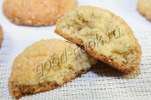 печенье с манкой рецепт с фото