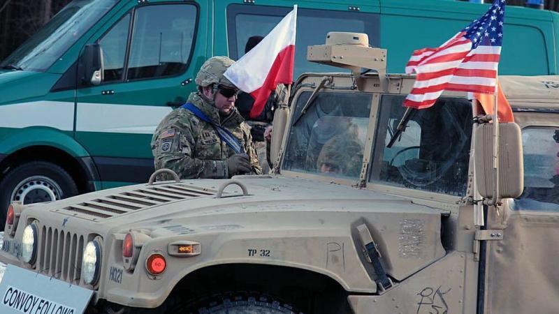 Тысяча солдат США прибудут в Польшу весной